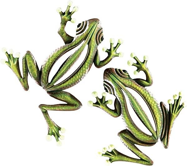 收藏等夜光挂月绿青蛙墙贴栅栏圣诞树装饰集
