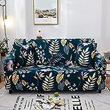 Fundas protectoras de sofá para sala de estar, elásticas, seccionales, esquineras, fundas de sofá A17 de 3 plazas