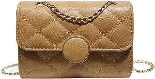 Everpert Women Mini Shoulder Bags Pu Solid Crossbody Messenger Bag