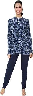 Applicazione in Pizzo Brand con Manica Corta e abbottonatura Serafino Prodotto 100/% Made in Italy FIDA Elegante Camicia da Notte in Morbida Viscosa