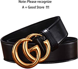 ea275f06b GG Buckle Belt for Women Black Leather