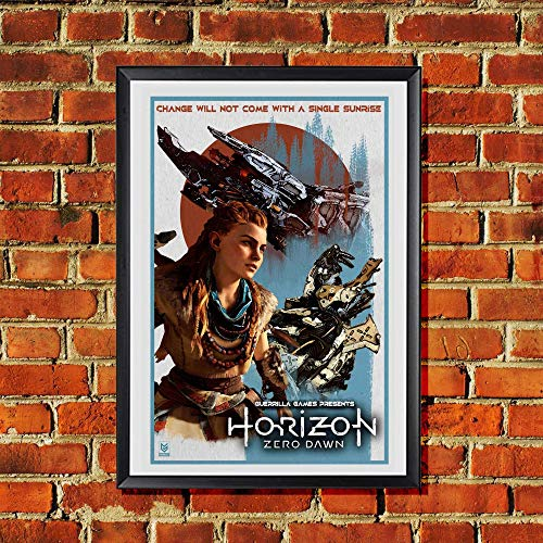 Horizon Zero Dawn PS4 Aloy Original Art Print 11x17