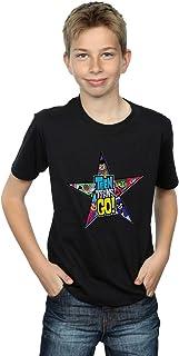 DC Comics Niños Teen Titans Go Star Logo Camiseta