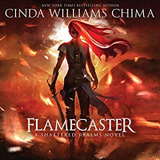Flamecaster audiobook cover art