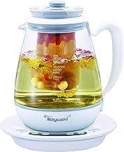 Toyomi WK 2162 Borosilicate Health Pot, 1.8L White