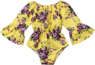 0999175c4 Amazon.com  Yellows Baby Girls  Bodysuits