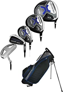 Nitro Golf- Crossfire 17 Piece Complete Set with Bag Graphite/Steel