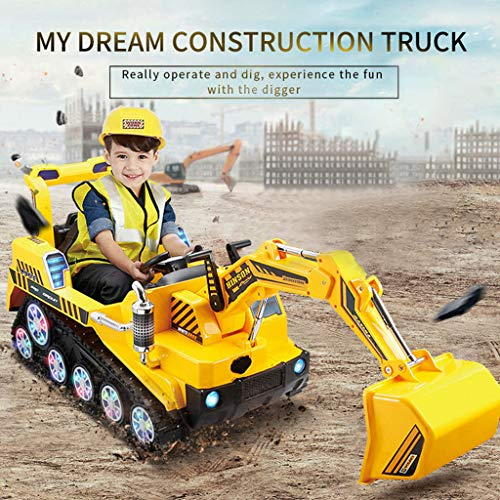 Fantastic Deal! Cyswi Toys,FD-2811 2.4G Crawler Construction Truck Manned Dual Mode RC Excavator Car...
