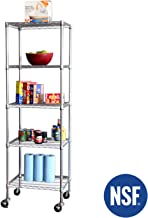 square post wire shelving