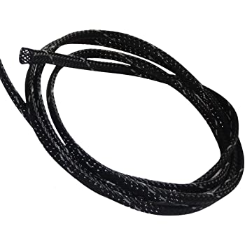 4.5 metros 4mm 3-7 Funda trenzada termorretr/áctil para cables el/éctrico mangas trenzadas verde C41288 AERZETIX