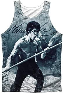 Bruce Lee Men's Whoooaa Mens Tank White