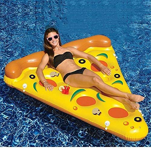 MGWA Juguetes inflables de la Piscina Flotando En El Agua PVC Inflable Pizza Flotante Fila Deportes Acuáticos for Adultos Inflables Barco Surf