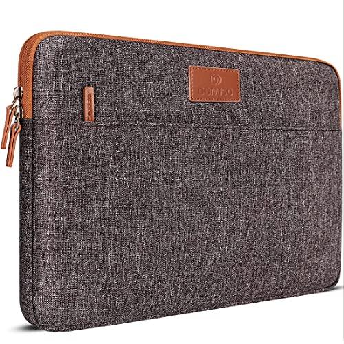 DOMISO 14 Zoll Laptophülle Hülle Sleeve Hülle Etui Notebook Schutzhülle Canvas-Gewebe Tasche für 14