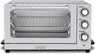 Cuisinart Toaster Oven Broiler with Convection TOB-60NFR (Renewed)