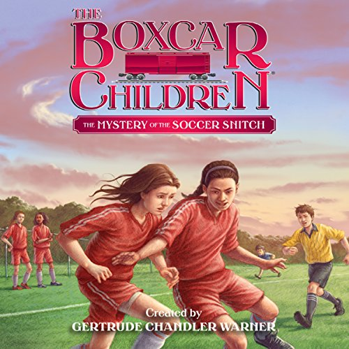 The Mystery of the Soccer Snitch     The Boxcar Children Mysteries, Book 136              De :                                                                                                                                 Gertrude Chandler Warner                               Lu par :                                                                                                                                 Aimee Lilly                      Durée : 1 h et 32 min     Pas de notations     Global 0,0