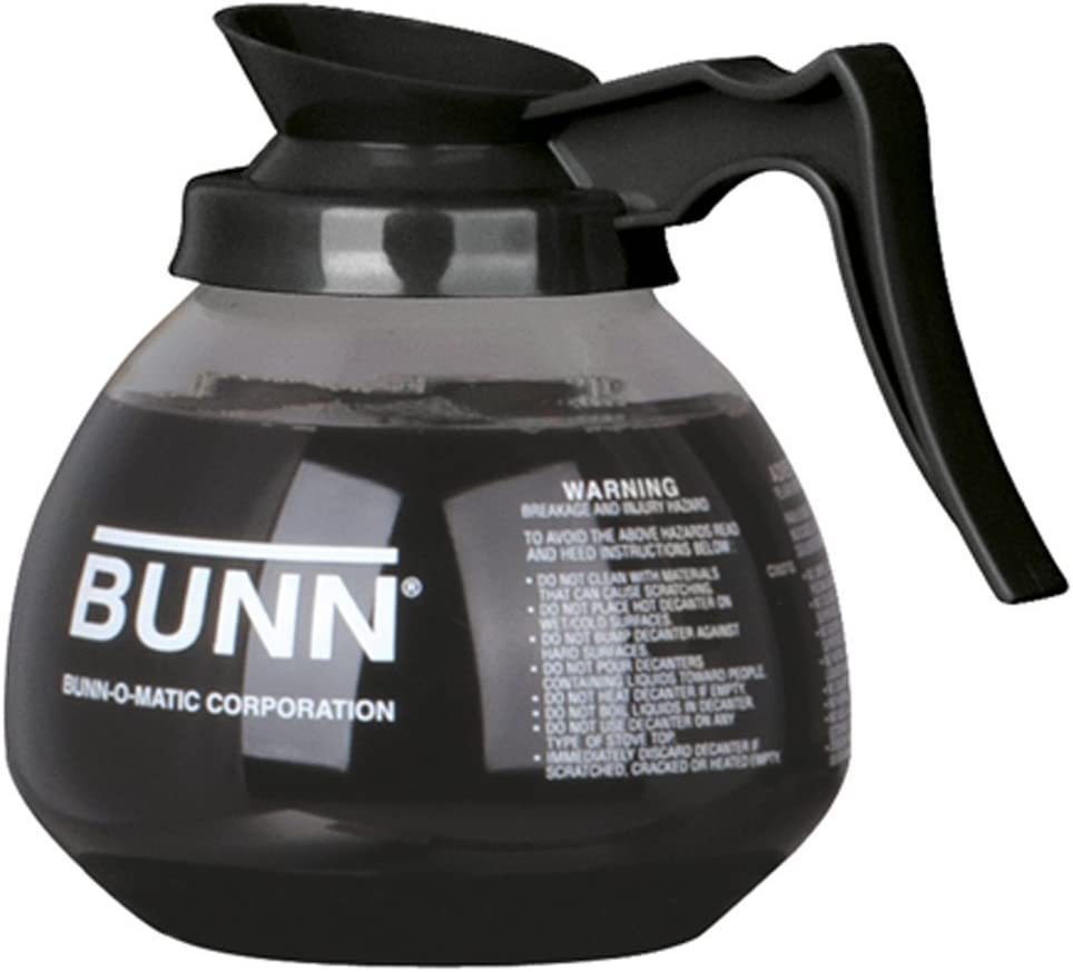 BUNN Coffee Pot Decanter Carafe Black - Cheap super special price Fashion New Glass Regular Design