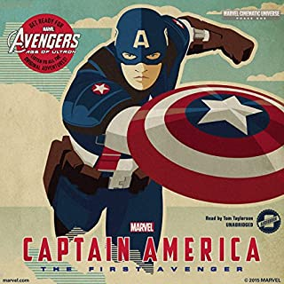 Marvel's Avengers Phase One: Captain America, the First Avenger cover art