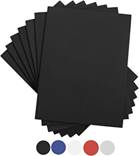Houseables Crafts Foam Sheets, Art Supplies, EVA, 6mm Thick, Black, 9 X 12 Inch, 10 Pack, Paper Scrapbooking, Cosplay, Cra...