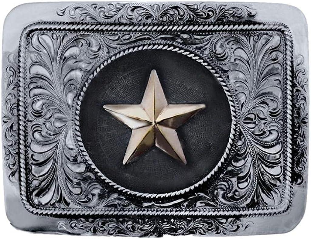 Vogt Silversmiths Western 2021 spring and summer new Belt Buckle Trophy 08 Star Mens Laredo excellence