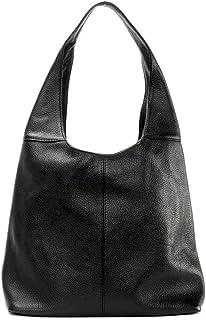 OH MY BAG Sac porté épaule Cuir porté épaule Femmes en véritable cuir fabriqué en Italie - modèle ELLEN