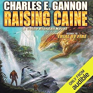Raising Caine audiobook cover art