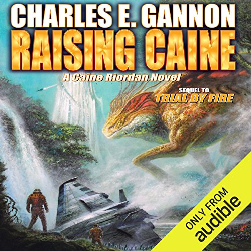 Raising Caine audiobook cover art