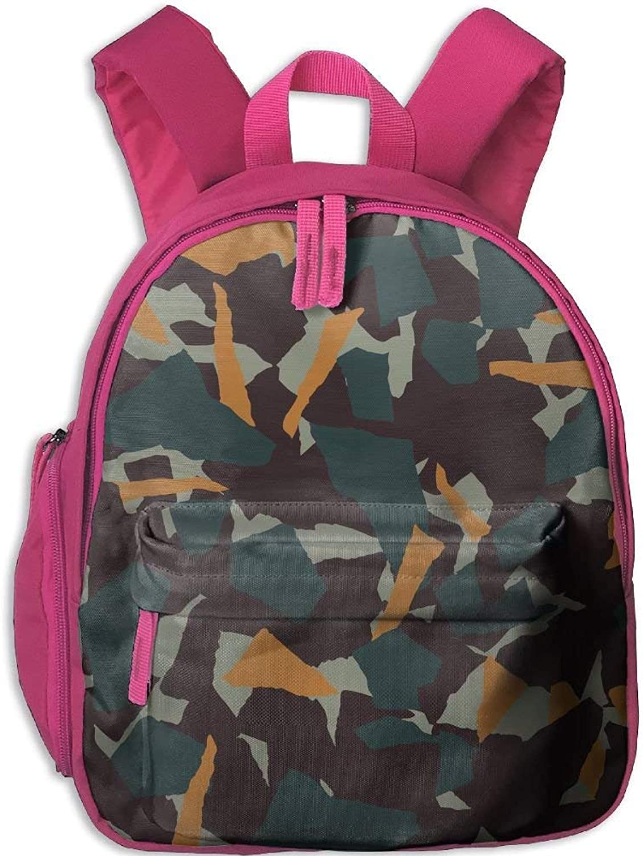 Backpack, School Backpack for Boys Girls Cute Fashion Mini Toddler Canvas Backpack, Camo B07LFYL8PX  Sehr praktisch