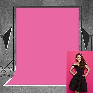 Allenjoy Fotohintergrund, 1,5 x 2,1 m, Stoff, Pink