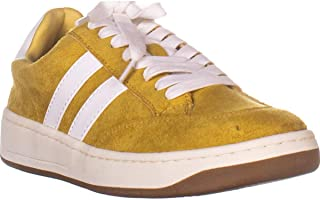 American Rag AR35 Shaley Low Top Lace Up Sneakers, Yellow