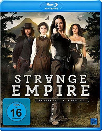 Strange Empire Episoden 01-13 (3 Disc Set) [Blu-ray]