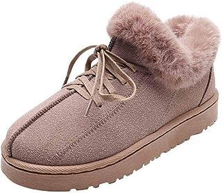 ZOSYNS Dames schoenen winter katoenen schoenen outdoor wandelschoenen mode casual warm gevoerd comfortabel antislip sports...