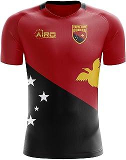 Airo Sportswear 2018-2019 Papua New Guinea Home Concept Football Soccer T-Shirt Jersey