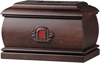 JIADUOBAO-urn Urn for Human Ashes - Cremation Urn Handcrafted Woodcarving Forever Memory Box Memorial, Suitable Home Place...