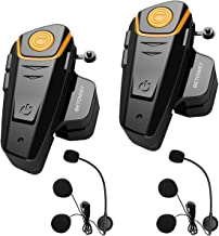 BETOWEY 2X BT S2 Intercomunicador Casco Moto Manos L