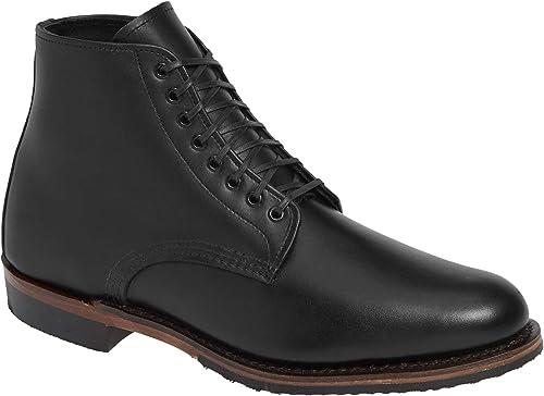 rot Wing Hombre 6 Inch Williston Cuero schwarz Stiefel 44 EU