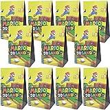 Cajas De Fiesta Bolsas de cumpleaños, 24Pcs Regalo Cajas Mario, Cajas de Caramelo Tema Reutilizable Bolsas de Fiesta Bolsas para cumpleaños niños la Fiesta favorece la Bolsa Bolsas Fiesta