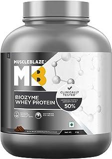 MuscleBlaze Biozyme Whey Protein (2 Kg, Rich Milk Chocolate)