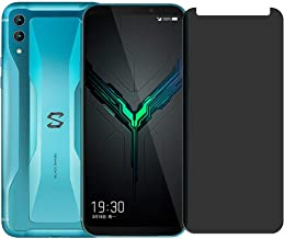 JadYass Glass Screen Protector with Glass Protection Strength (Privacy) for Xiaomi Black Shark 2/2 Pro