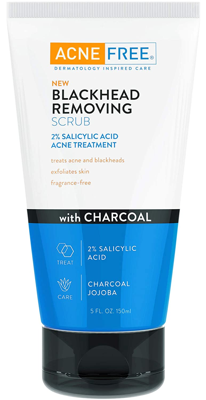 Acne Free Blackhead Removing Exfoliating Scrub 2% with Face Chicago Mall Sali Max 59% OFF