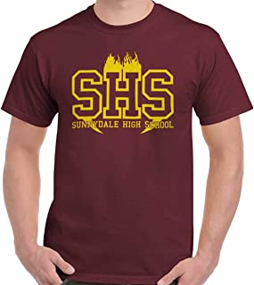 Sunnydale High Vampire Slay Nineties Retro T Shirt Tee