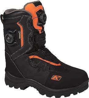 Klim Adrenaline GTX Boa Men's Snocross Snowmobile Boots Boots - Orange Size 9