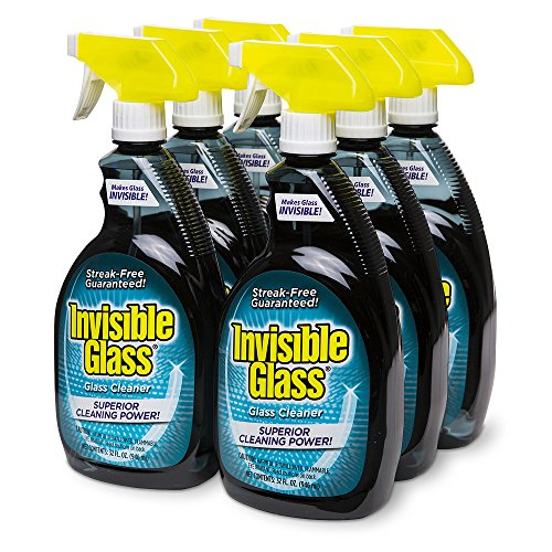 Invisible Glass 92194-6PK 32-Ounce Cleaner and Window Spray for Home