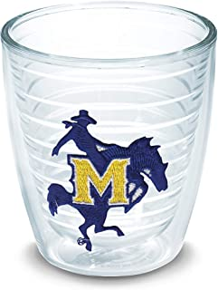 Tervis 1006573 McNeese State Cowboys Logo Tumbler with Emblem 12oz, Clear