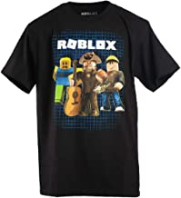 Roblox Boys 8-20 Power Up Tee (Small) Black