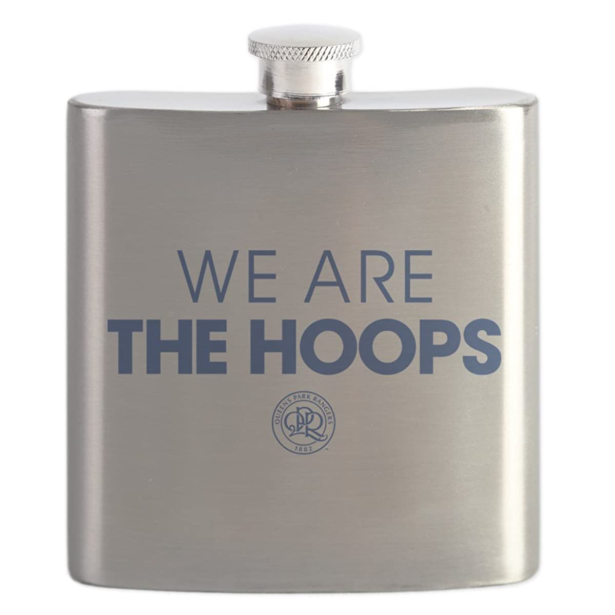 CafePress - Queens Park We Are The Hoops - Stainless Steel Flask, 6oz Drinking Flask