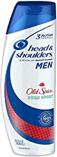 Head & Shoulders Old Spice Dandruff Shampoo for Men 13.5 oz (Pack of 2)