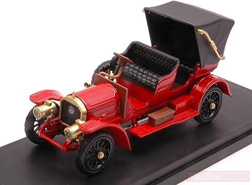 El ultimo 2018 Rio RI4527 Mercedes SIMPLEX 1902 rojo 1 43 MODELLINO Die Die Die Cast Model Compatible con  precios mas bajos