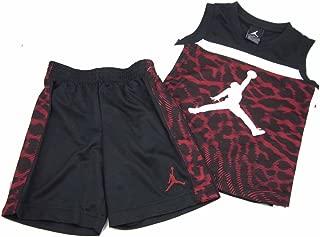 Boys Air Jordan 2 Piece Shorts & Sleeveless Shirt Set