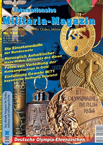 Internationales Militaria-Magazin IMM Nr. 180 Orden Militaria Militärgeschichte