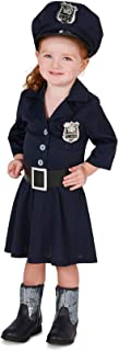 Forum Novelties Child's Police Girl Costume, As Shown, Small
